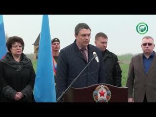 В ЛНР почтили память погибших в результате войны в Донбассе жителей республики