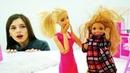 Барби оставила Челси с Кевином. Видео с куклами