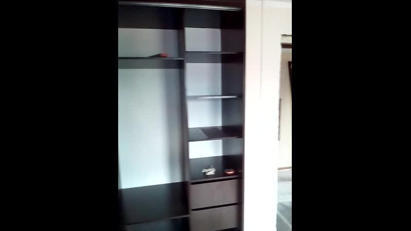 Монтаж шкафа купе в гостинице Виталина