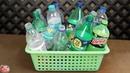 10 Plastic Bottle DIY Room Decor Idea 2019 || DIY Projects