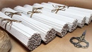 Как и из чего крутить трубочки / Плетение из бумажной лозы для начинающих