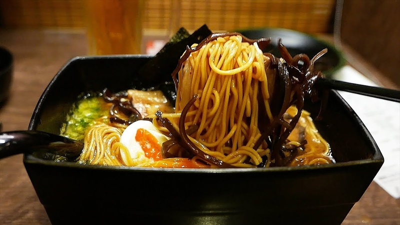 Japanese Food - ICHIRAN Best Ramen in the World! Fukuoka Japan