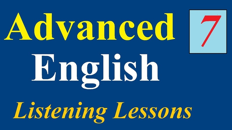 Learn American English★Learn to Listen to English★ Advanced English Listening Lessons 7✔
