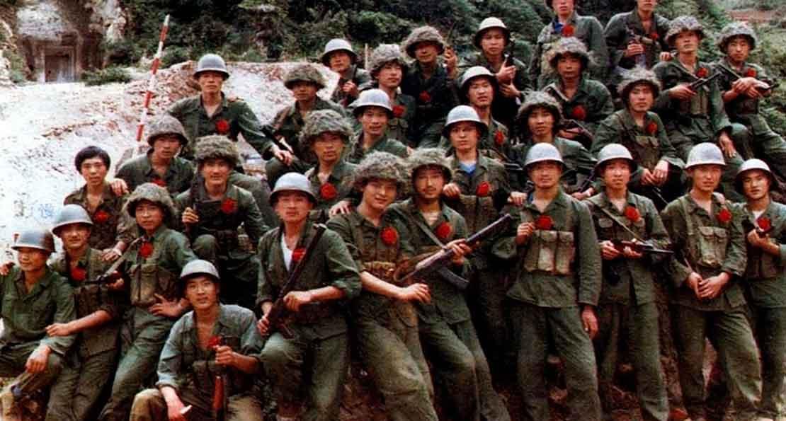 Вьетнамские солдаты