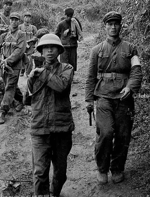 Пленные вьетнамцы