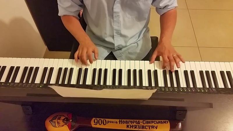 Тема пиратов из к ф Гостья из Будущего исполнение на пианино кавер