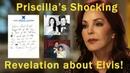 Priscilla Presleys new revelation about Elvis and letters he left behind!