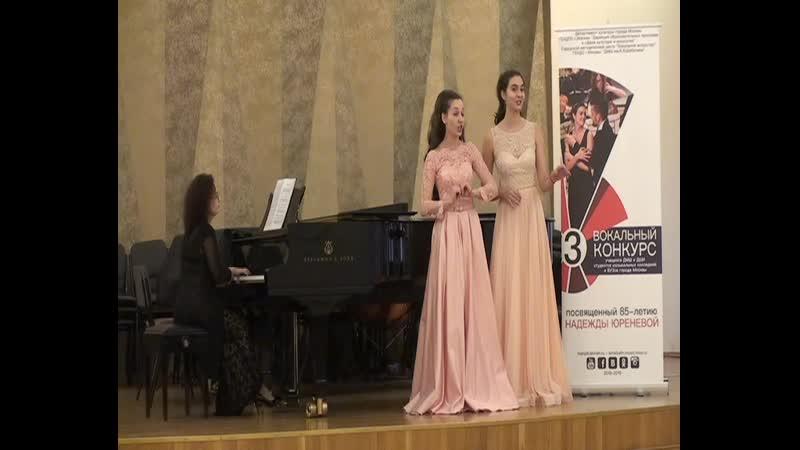 Ася Чурилина и Влада Котова. Русская народная песня