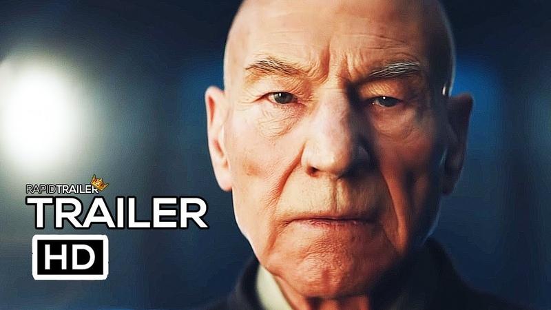 STAR TREK PICARD Official Trailer (2019) Patrick Stewart, Sci-Fi Series HD