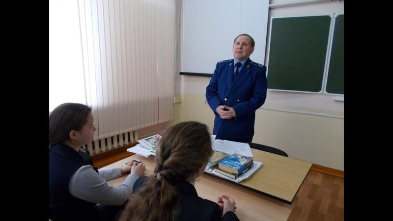 Прокурор Моргаушского района Шоркин Валерий Вениаминович Чувашия 2019 апрель 4