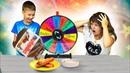 ШОКОЛАДНЫЙ ЧЕЛЛЕНДЖ с НУТЕЛЛА CHOCOLATE CHALLENGE FOR Mistery Wheel Мальчики против девочек