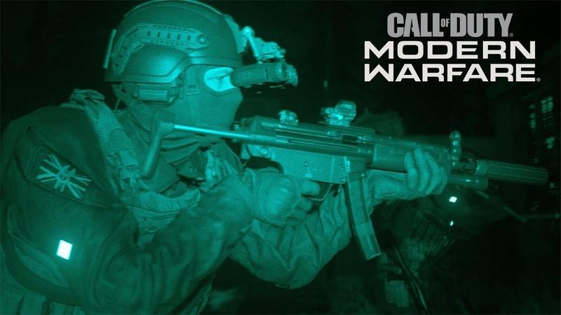 Call of Duty®: Modern Warfare® - анонсирующий трейлер