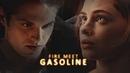 Tessa Isaac II Fire meet gasoline crossover