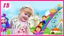 Детский праздник в Таганском парке и выставка-ярмарка. Яся танцует