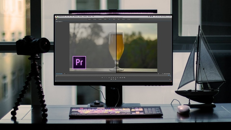 LOG vs HLG   How to Use LUTS and Color Grade in Premiere Pro Lumetri (BenQ PD2700U)