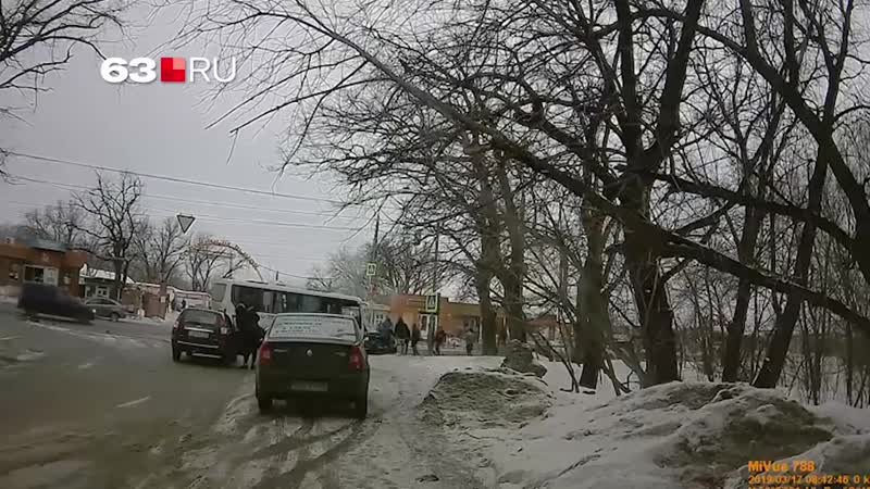 Видео момента смертельного ДТП на Южном шоссе