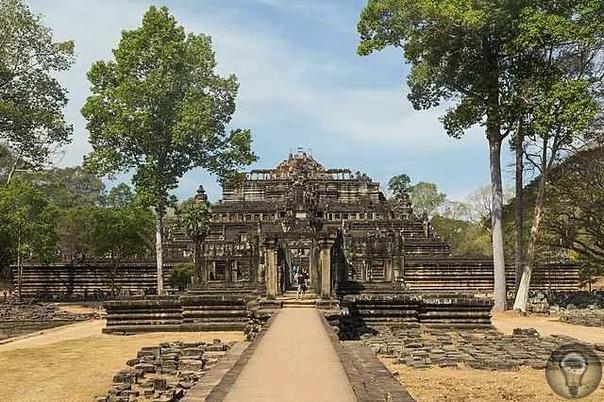 Храмы Ангкоры (Камбоджа) строили на песке: такое возможно
