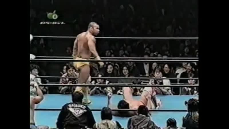 1998.02.28 - Kenta Kobashi/Jun Akiyama vs. Yoshihiro Takayama/Masahito Kakihara