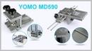 Кондуктор для шкантов и мебельных стяжек YOMO MD590