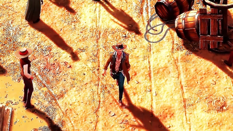 DESPERADOS III Gameplay Trailer (2019) PS4 / Xbox One / PC