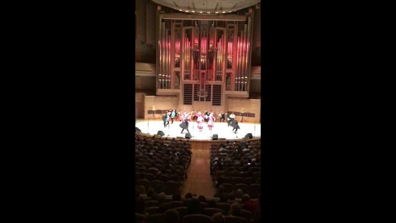 Северный хор в Международном доме музыки 23.04 2019! sevhor (любительская видеосъемка)