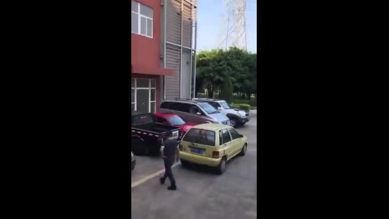 Борьба с идиотской парковкой