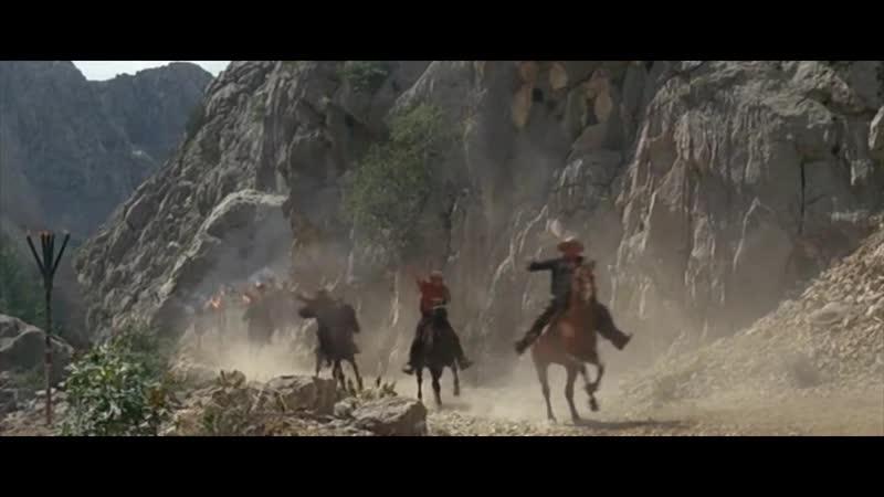 Виннету: Среди коршунов. Прорыв бандитов через Долину Смерти