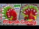 DIY||Tutorial Lengkap Tempat Permen||Merak Candy||Peacock Candy||By : J.Nisa
