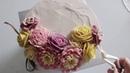 앙금플라워 꽃짜기 매발톱꽃, 장미, 작약 /beanpaste flower piping techniques (Columbine ,Rose ,peony )