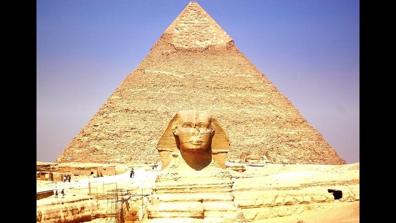 The pyramids of GIZA Egypt Пирамиды Гизы Египет