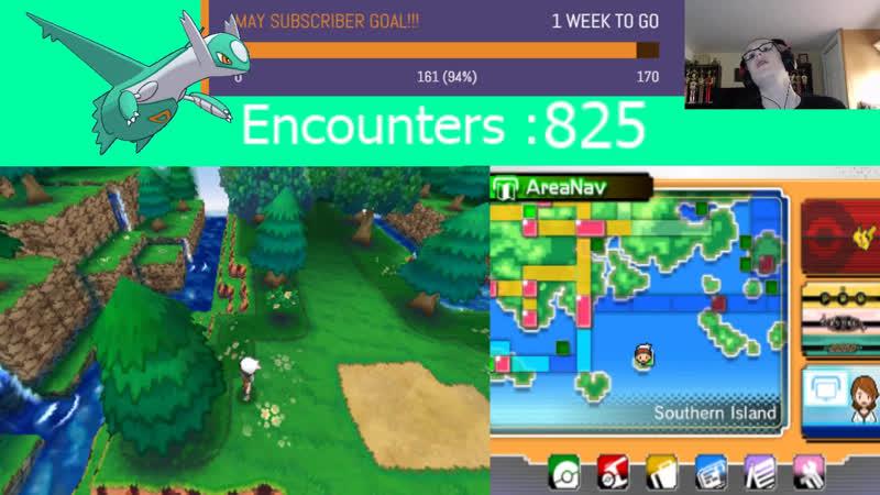 SHINY LATIOS HUNTING STREAM 10 Pokemon Omega Ruby Lets Play Ep 18