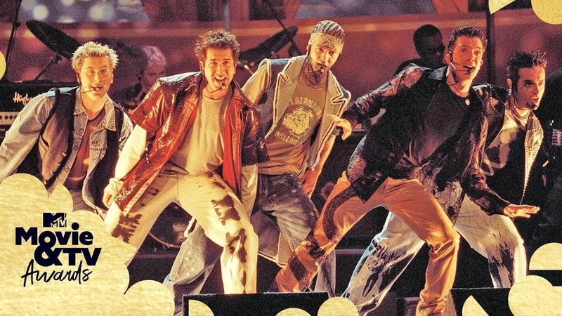 *NSYNC Performs 'It's Gonna Be Me' (2000) | MTV Movie TV Awards | TBT