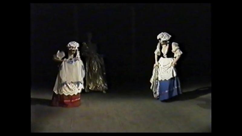 Сказка Волшебная свирель, с Лапко, целиком, 1999 г., 3-й курс. Колледж культуры, Белгород