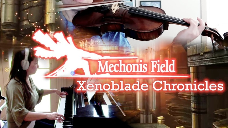 Xenoblade Chronicles - Mechonis Field - viola/piano