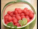 Make a Watermelon Basket, Pineapple Boat and Mango Flower Easiest Fruit Design