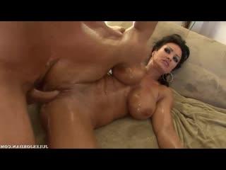 Групповушка с зрелыми блядями в масле julia ann, lisa ann [big tits, milf, big ass, anal, blonde, blowjob, oil, sidewa