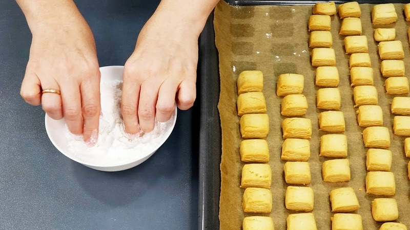 5 САМЫХ ПРОСТЫХ рецептов печенья Как приготовить ПЕЧЕНЬЕ за 15 минут КУХНЯ НАИЗНАНКУ