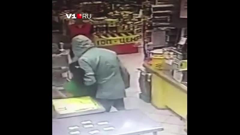 Налёт на магазин в Волгограде