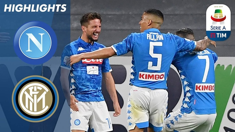 Napoli 4-1 Inter | Napoli hit four to dent Inters UCL chance | Serie A
