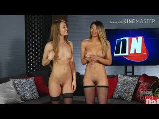 V Naked News 2018.12.17 Tia Larose And Alana Blaire Closing Remarks