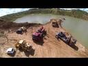 Грузовой эвакуатор Обнинск Подъем на берег затонувшего земснаряда