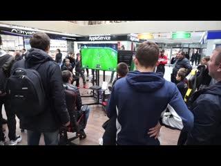 Первый открытый городской турнир по киберфутболу