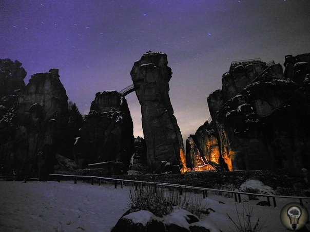 Святилище Экстернштайне  магическая сила древних скал