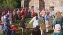 Православный клуб Трилистник организовал на Соборной горе Троишные круги