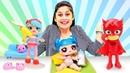 Pijamaskeliler Shopkins LOL Ayşe ile en sevilen çocuk oyunları