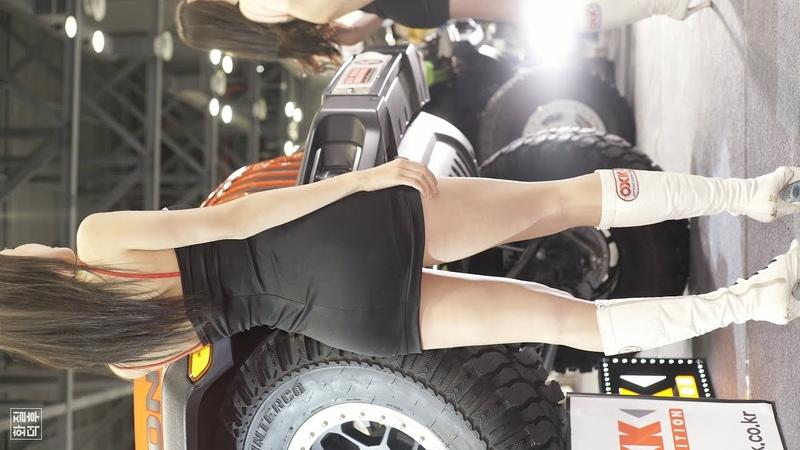 4K 레이싱모델 임솔아 3 가로 직캠 Racing Model Im Sola Horizontal 2018 오토위크 by 화질덕후