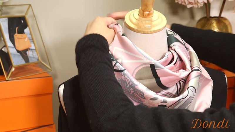 Hermes 絲巾聞名世界,收藏價值超越所有其他品牌。90cm 方巾用途多多,來看看Don