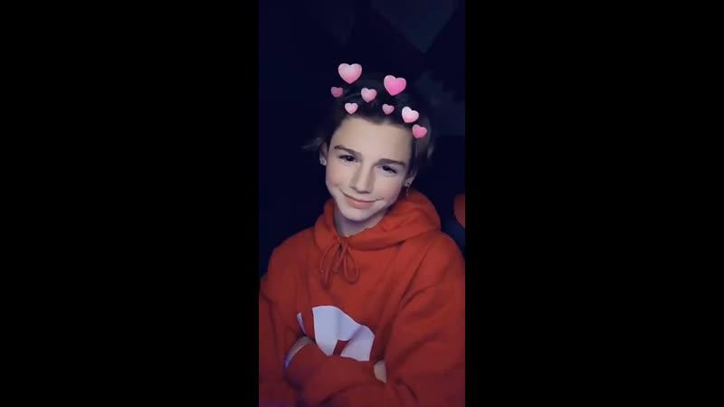 Payton Moormeier — Snapchat 23/03/2019