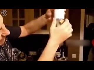 Как вытащить пробку из пустой бутылки