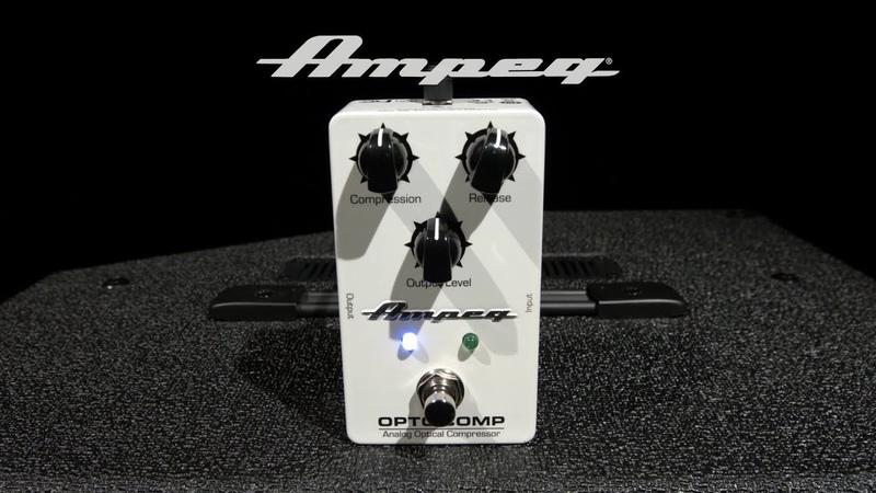 Ampeg Opto Comp Analog Bass Compressor   Gear4music demo
